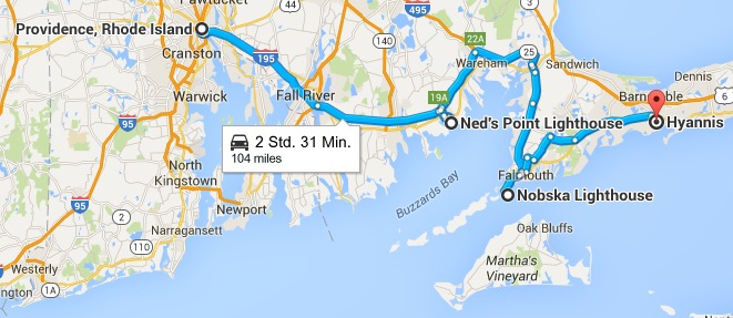 10.10.2015 USA Neuengland - Providence - Hyannis, Cape Cod ... on